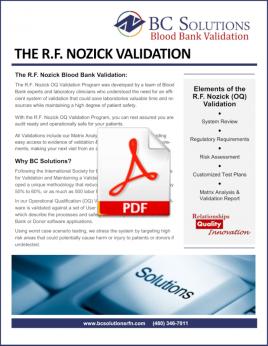 The RF Nozick Validation